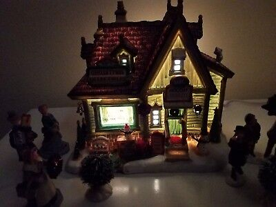 LEMAX 10 PIECE Kip's Christmas Collectable KIT Lighted.