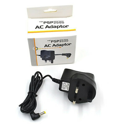 Psp Mains Wall Charger Adapter Plug For Sony Psp 1000 2000 3000 Top Quality