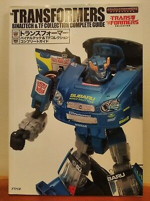 Transformers Binaltech & TF Collection Complete Guide.