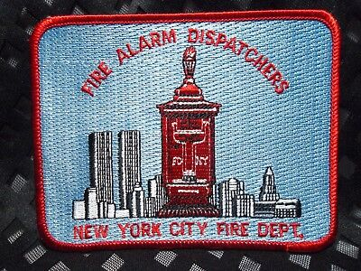 New York City FDNY FIRE ALARM DISPATCHERS Patch Fire Department
