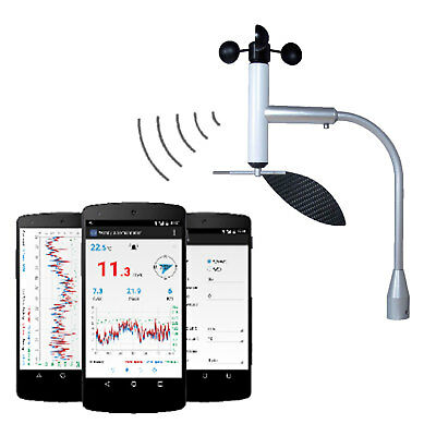 Navis Wireless Windy B Cup Anemometer Wind Direction by Smartphone Connection