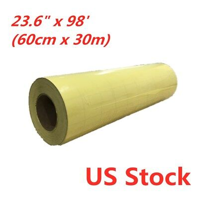 """23.6"""" x 98' Roll Application Tape for Image Transfer - US Stock"""