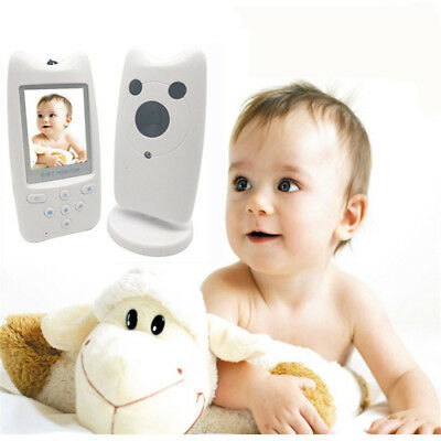 Baby Monitor 2.4GHz Color LCD Audio Talk Night Vision Wireless Digital Video