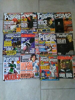 Bundle of Playstation PS1 and ps2 Magazines/Guide Book/Cheats etc ...EX CON