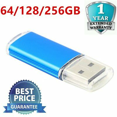 64GB 128GB 256GB  USB 2.0 Flash Drive Memory Thumb Key Stick Pen Storage MB