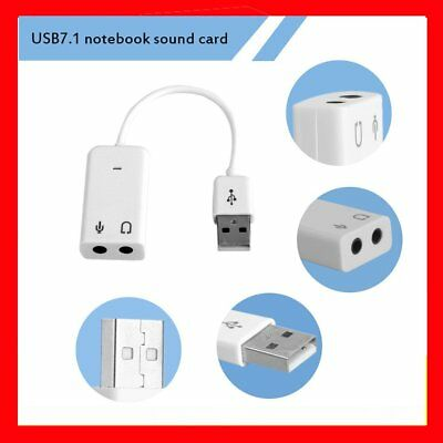 USB 7.1 Channel External Sound Card With Independent External Sound Card MB
