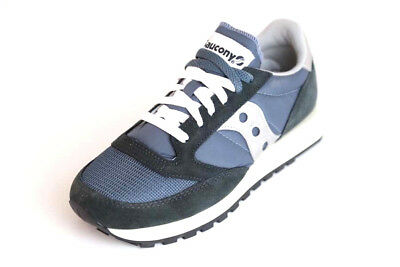 free shipping 42aa3 ccb9b Saucony Sneaker - Jazz Original Vintage OG - Blue - Navy - Silver - S-