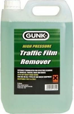 Gunk Traffic Film Remover TFR Non Caustic Degreaser Cleaner 5 Litres