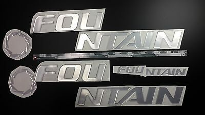 """FOUNTAIN boat Emblem 32"""" + FREE FAST delivery DHL express"""
