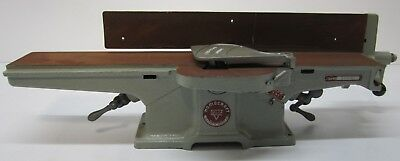 """Vtg Delta Homecraft 4"""" Precision Jointer Planer Tool Woodworking Machine As Is"""