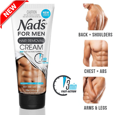 Hair Removal Cream Spray For Men Smooth Skin 6oz For Chest Legs Arm Private Area 13 93 Picclick