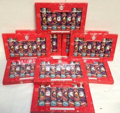 23 x Packs Of Christmas Crackers Each Pack has 10 Crackers so 230 Crackers !!