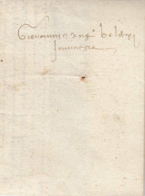 Italy 1459 Stampless Folded Letter!!!!!