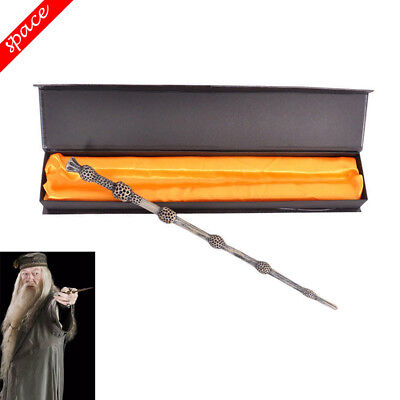 Movie Harry Potter Magic Wand Dumbledore Cosplay Wands Props Stick In Gifts Box