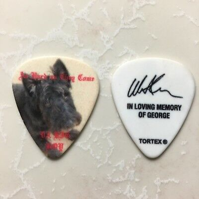 LAMB OF GOD Willie Adler Tour Signature Guitar Pick. RARE!!