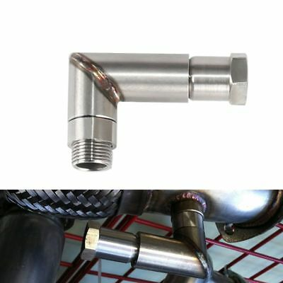 O2 Oxygen Sensor Angled Extender Spacer 90˚ O2 Bung Extension Oxygen Adapter