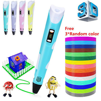 3D Printing Pen 2nd Crafting Doodle Drawing Arts Printer Modeling PLA/ABS BEST Y