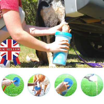 Portable Pet Fur Wash Paw Plunger Mud Cleaner Washer Mudbuster Dog Cat Cup