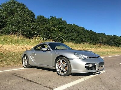 Porsche Cayman S 3.4 2007 Unrecorded Boxster Damaged Project
