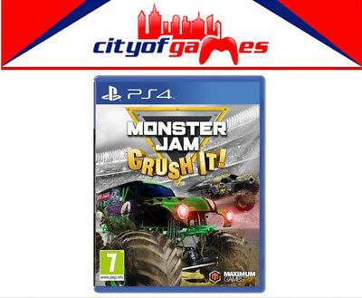 Monster Jam Crush It PS4 Game New & Sealed In Stock