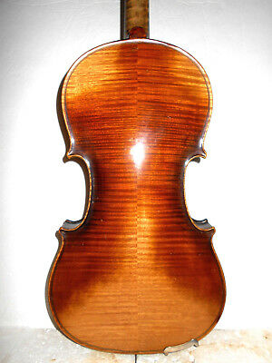"Vintage Old Antique ""J. W. Pepper"" 2 Pc Back Full Size Violin - No Reserve"