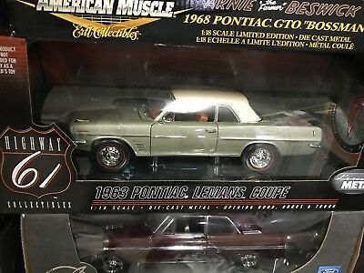 Highway 61 1963 Pontiac LeMans Coupe 1:18 Scale