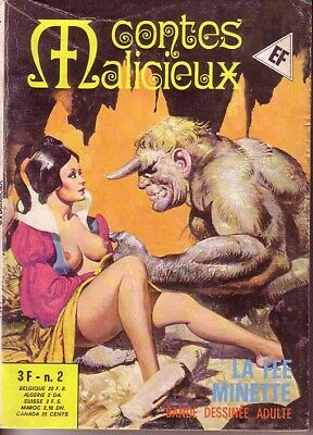 CONTES MALICIEUX N°02  ELVIFRANCE - Leone FROLLO