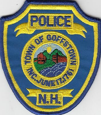 Goffstown Police Shoulder Patch New Hampshire Nh