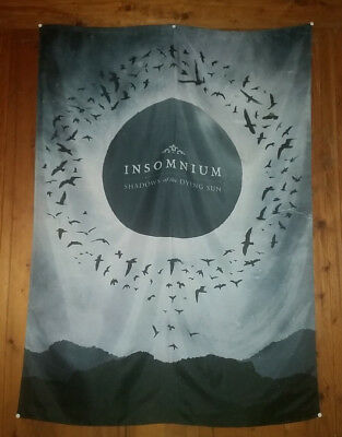 INSOMNIUM Shadow of the dying Sun Stoff FLAGGE