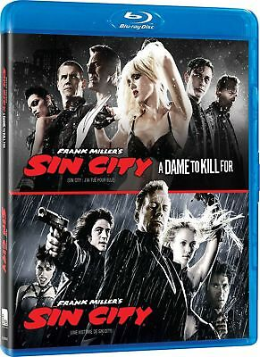 Sin City / Sin City : A Dame to Kill For [Blu-ray] New and Factory Sealed!!