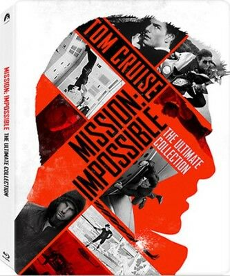 Mission: Impossible - Ultimate 5-Pack - Limited Edition Steelbook [Blu-ray] New!