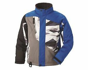 Polaris Youth Ripper Blue Print Jacket