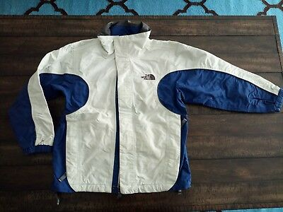 THE NORTH FACE TNF Boys Youth Jacket Triclimate Boundary SHELL ONLY Size M BLUE