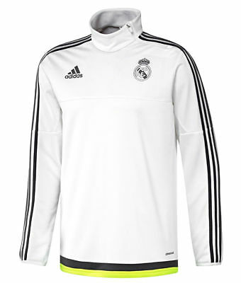 Adidas Performance Real Madrid Fc Training Top Warm Up Sweatshirt 34-36 Ch