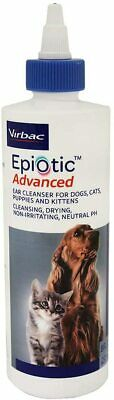 Virbac Epi-Otic Advanced Ear Cleaner 8 oz for Dogs, Cats, Kittens