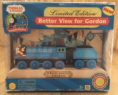 Thomas & Friends Better View for Gordon - Limited Edition Wooden Railway/Holz