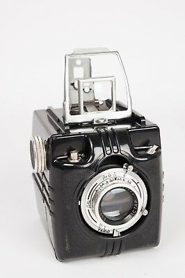 Gomag Holly (1952) + Rictar 1:3,5/80 + Vario Bakelite box camera ,rare, unusual