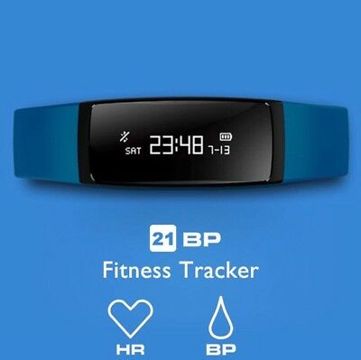 AUPALLA Fitness Tracker, 21BP Smart band Activity Tracker Work With Heart Rate