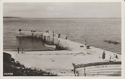 Scotland - John O Groats - The Jetty - Caithness - Real Photo  Postcard # 18502