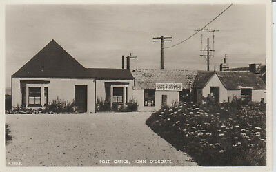 Scotland - John O Groats - Post Office - Real Photo  Postcard # 18500