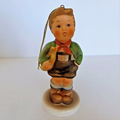 Schmid Hark The Herald Ornament Little Boy Design By Berta Hummel First Edition