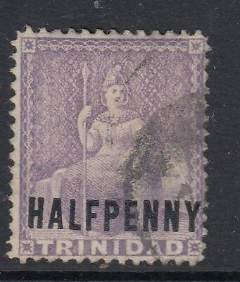 TRINIDAD AND TOBAGO SG98, ½d lilac, FINE used, CDS. Cat £12.