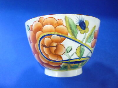 English Pearlware Gaudy Dutch Oyster Pattern Cup C1820