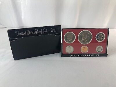 1975 S US Mint Proof Coin Set In Original Packaging