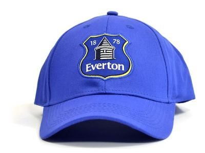 6caa42f6022 Everton Fc Royal Blue Colour Official Adult Baseball Cap Hat New Xmas Gift
