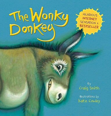 The Wonky Donkey Book Paperback PRE ORDER For 15 November UK Release - Christmas