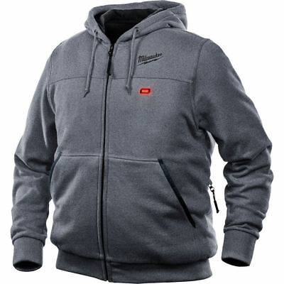 NEW MILWAUKEE 302G-20L M12 Heated Hoodie, Large (Hoodie Only)