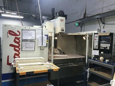USED FADAL VMC 6030 HT CNC Vertical Machining Center Mill 10,000 rpm 32mp  CT '99