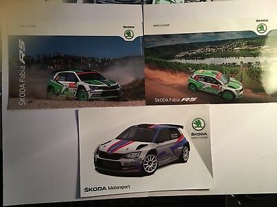 Lot Cartes Skoda Fabia R5 Tidemand / Kopeky