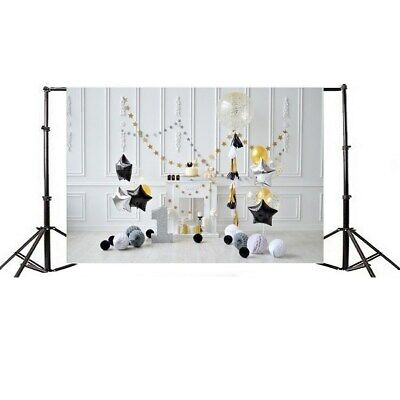 [NEW] 7x5ft Birthday Backgrounds Thin Vinyl Photography Backdrop Background Stud